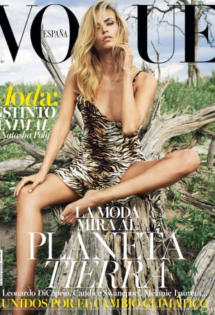 Vogue España July 2016 : Natasha Poly by Nico Bustos