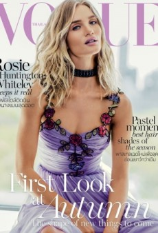 What Did Vogue Thailand Do to Rosie Huntington-Whiteley's Face? (Forum Buzz)