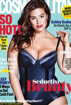 Cosmo Cover Girl Ashley Graham: I'm Giving Curvy Women a Seat at a Table That We've Never Been Invited to Before