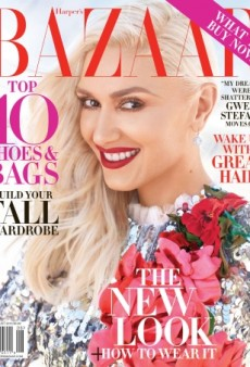 Gwen Stefani Returns to the Cover of Harper's Bazaar for August 2016 (Forum Buzz)
