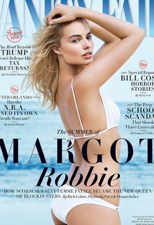 Margot Robbie Vanity Fair August 2016 TheFashionSpot