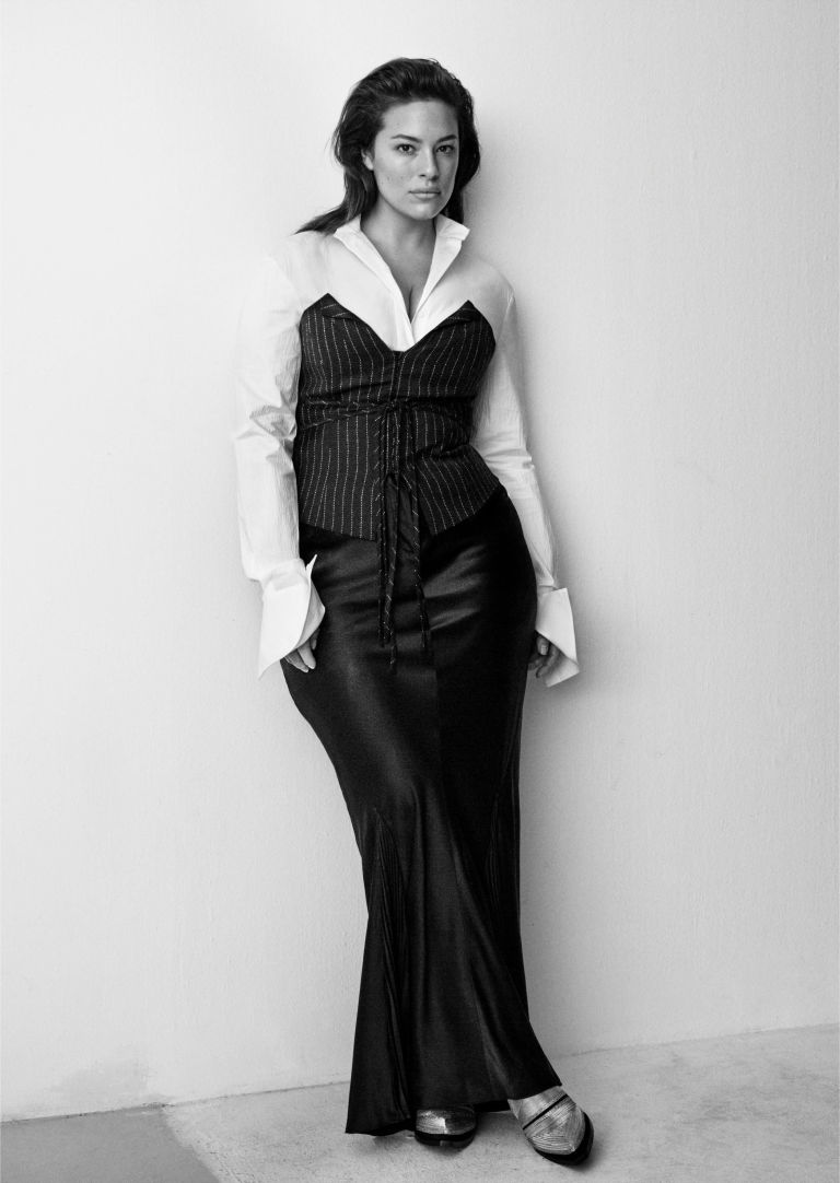 Ashley Graham for H&M Studio's Fall 2016 lookbook.