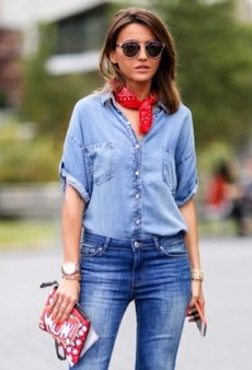 15 Ways to Master Double Denim Like a Street Style Star