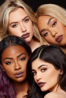 Kylie Jenner's Inclusive New Lip Kit Promos Give Us Hope