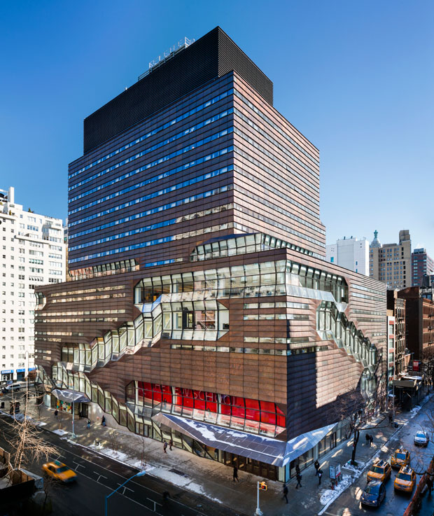 Parsons School of Design in Manhattan