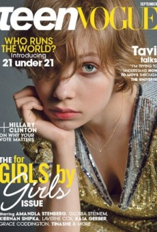Inez and Vinoodh Photograph Tavi Gevinson for Teen Vogue's September Cover (Forum Buzz)