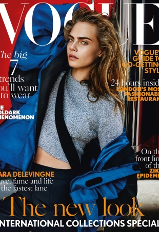 UK Vogue September 2016 : Cara Delevingne by Mario Testino