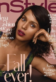 Kerry Washington Is InStyle's Breathtaking September Cover Girl (Forum Buzz)