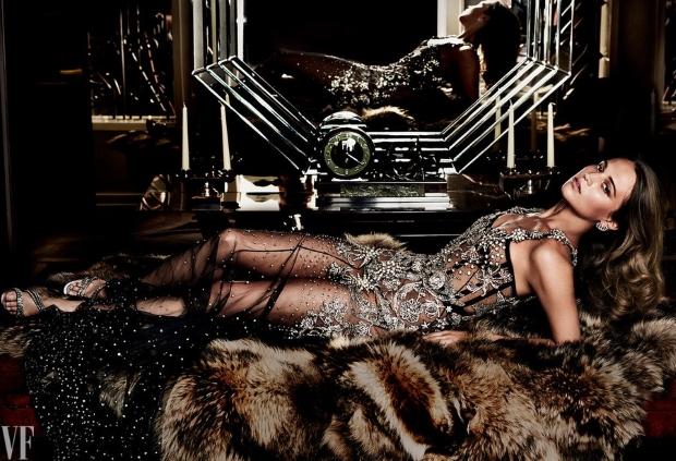 Vanity Fair September 2016 : Alicia Vikander by Mario Testino