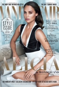 Alicia Vikander Looks Lifeless on Vanity Fair's September Issue (Forum Buzz)