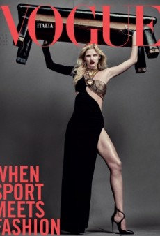 Lara Stone and Steven Klein Deliver an 'Embarrassingly Bad' Vogue Italia Cover for August (Forum Buzz)