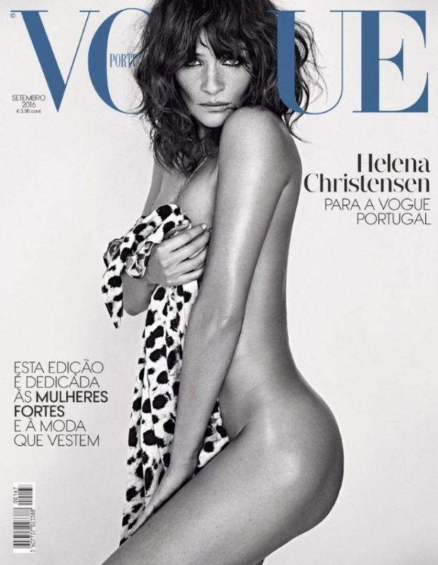 Vogue Portugal September 2016 : Helena Christensen by An Le