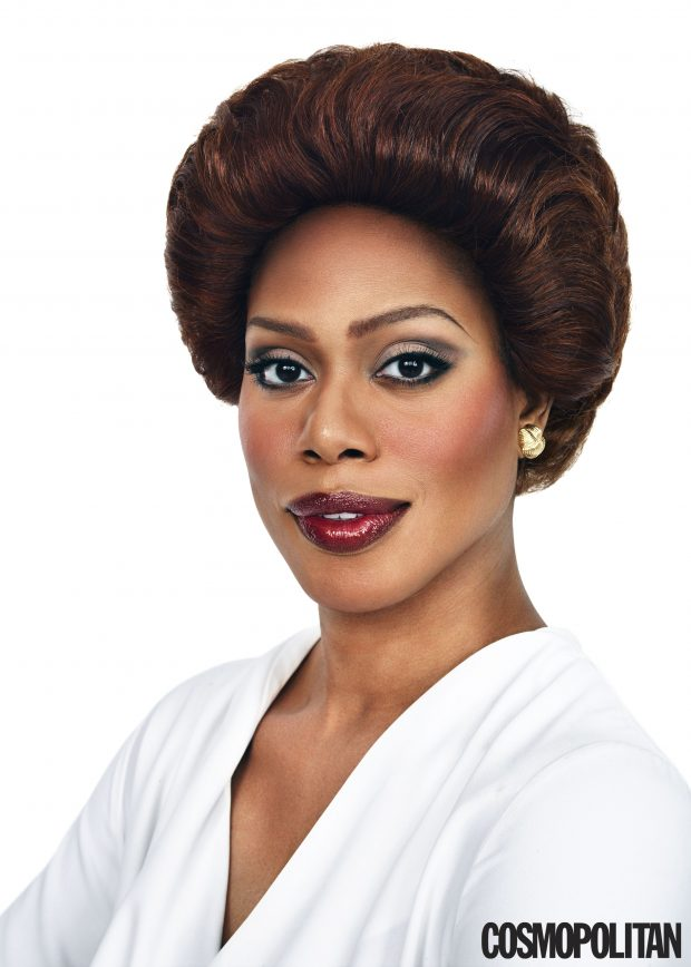 Laverne Cox channels transgender icon Tracey Africa.