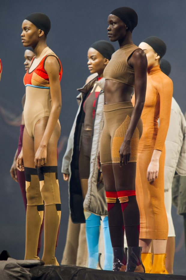 "Kanye West's Yeezy Season 3 collection was all about re-examining the concept of ""nude."""