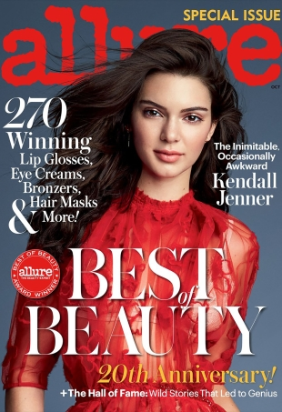 Allure October 2016 : Kendall Jenner by Patrick Demarchelier