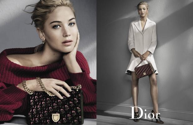 Christian Dior Handbags F/W 2016.17 : Jennifer Lawrence by Patrick Demarchelier
