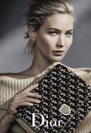 Christian Dior Handbags F/W 2016.17 : Jennifer Lawrence by Patrick Demarchelier