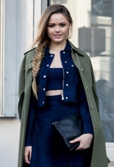 16 Street Style-Approved Ways to Rock a Crop Top in the Fall