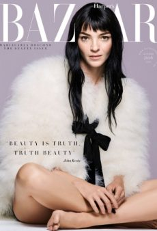 Mariacarla Boscono Is a Refreshing Cover Choice for UK Harper's Bazaar October (Forum Buzz)