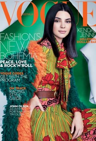 Vogue Australia October 2016 : Kendall Jenner by Patrick Demarchelier