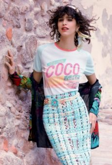 Mica Arganaraz Modeling Chanel's Cruise 2017 Collection Is a Match Made In Heaven (Forum Buzz)