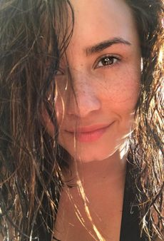Demi Lovato to Fan Artist: I Can Be a Beautiful Mermaid Without DDs