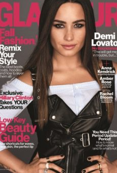 Demi Lovato Looks Like a Kardashian on Glamour's November Cover (Forum Buzz)