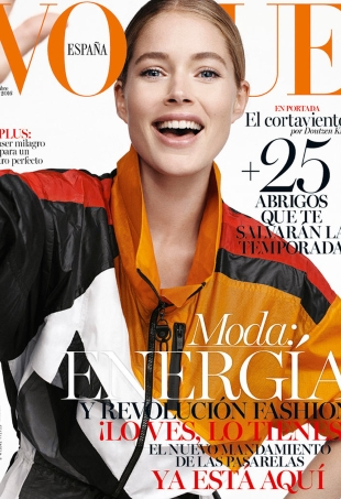 Vogue España November 2016 : Doutzen Kroes by Benny Horne