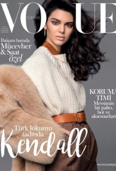 Kendall Jenner Works the Cover of Vogue Turkey's November Issue Like an 80s Supermodel (Forum Buzz)