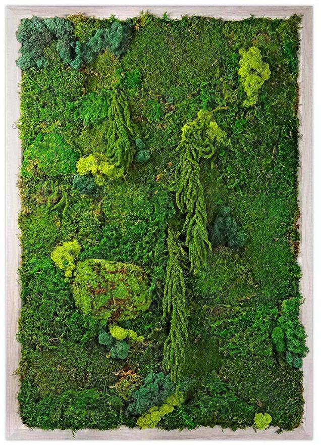 Luludi Living Art Moss Wall Garden, $599