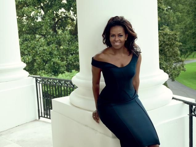 US Vogue December 2016 : Michelle Obama by Annie Leibovitz