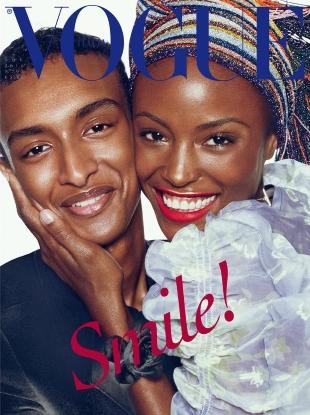 Vogue Italia November 2016 : Alicia Burke & Hussein Abdulrahman by Steven Meisel