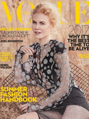 Vogue Australia January 2017 : Nicole Kidman by Will Davidson
