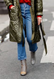 How to Wear Cropped Jeans, Even When It's Freezing Out