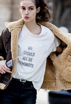 Trend Alert: We Should All Be Wearing Feminist Tees