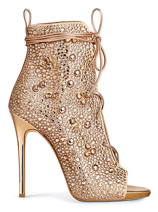Giuseppe Zanotti and Jennifer Lopez's 15-piece capsule collection finally dropped today.