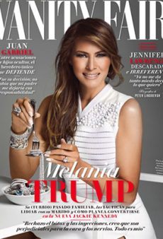 Awkward: Melania Trump Is on the Cover of Vanity Fair Mexico