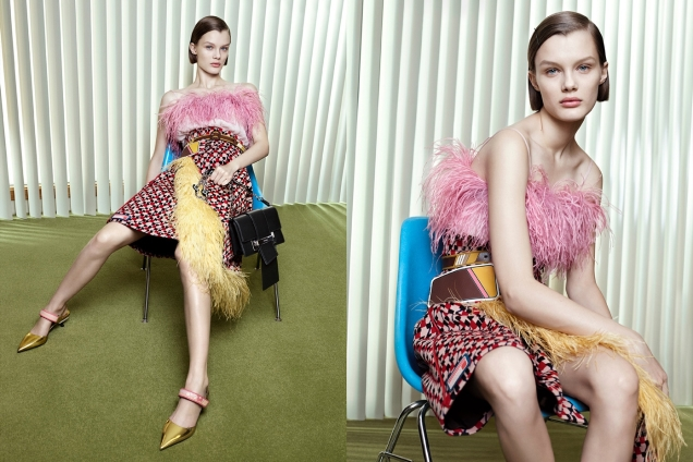 Prada S/S 2017 by Willy Vanderperre