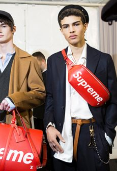 Here's the Louis Vuitton x Supreme Collab Everyone's Freaking Out About