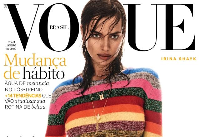 Irina Shayk Vogue Brazil January 2017 TheFashionSpot