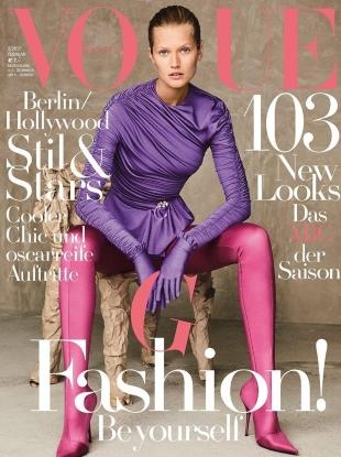 Vogue Germany February 2017 : Toni Garrn by Giampaolo Sgura