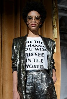 13 Times Designers Got Political at New York Fashion Week