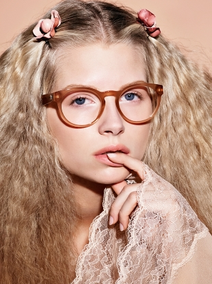 Chanel Eyewear S/S 2017 : Lottie Moss by Karl Lagerfeld
