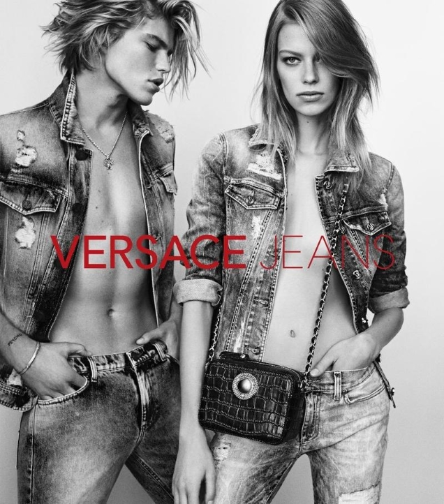 Versace Jeans S/S 2017 : Lexi Boling & Jordan Barrett by Luigi & Iango