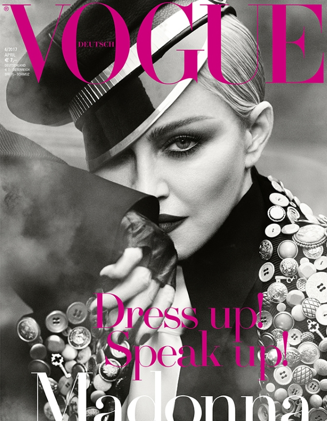Vogue Germany April 2017 : Madonna by Luigi & Iango