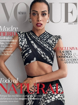Vogue Mexico & Latin America April 2017 : Adwoa Aboah by Giampaolo Sgura