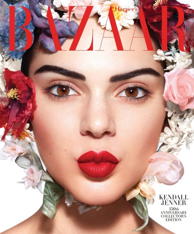 US Harper's Bazaar May 2017 : Kendall Jenner by Camilla Akrans