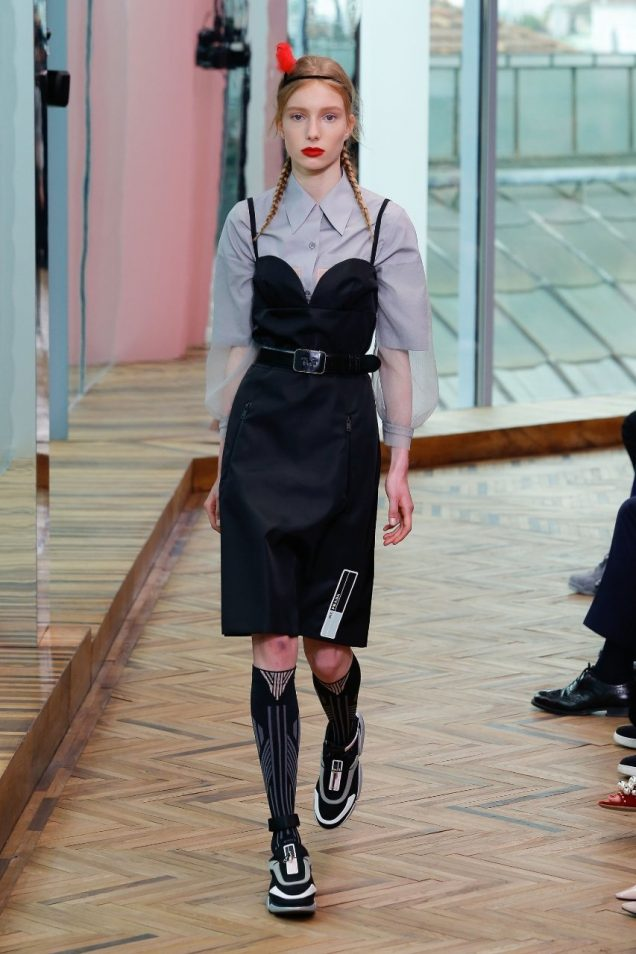 A look from Prada Resort 2018.