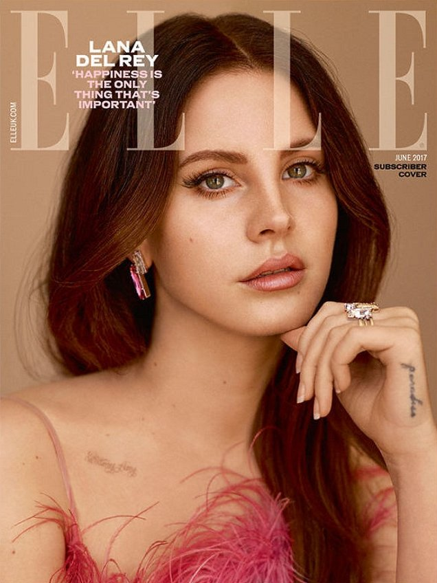 UK Elle June 2017 : Lana Del Rey by Thomas Whiteside