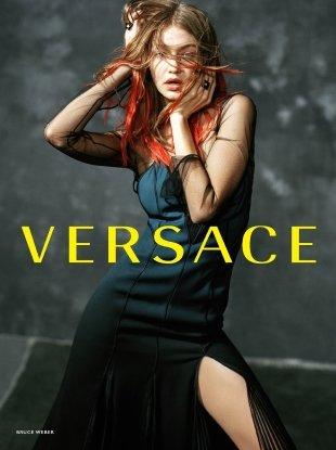 Versace F/W 2017.18 : Gigi, Mica, Taylor & Vittoria by Bruce Weber